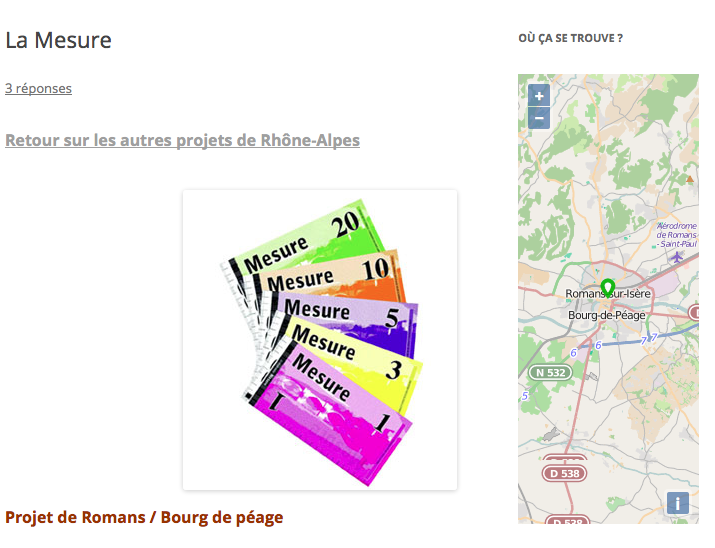 OSM Widget exemple
